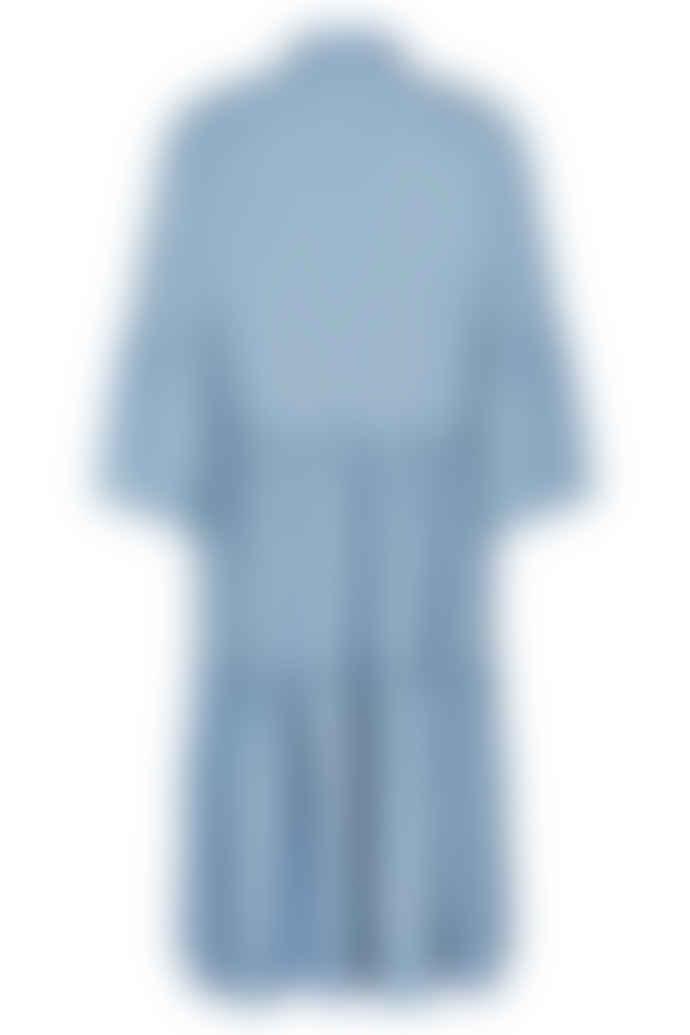 Numph Nuanna Light Blue Denim Dress