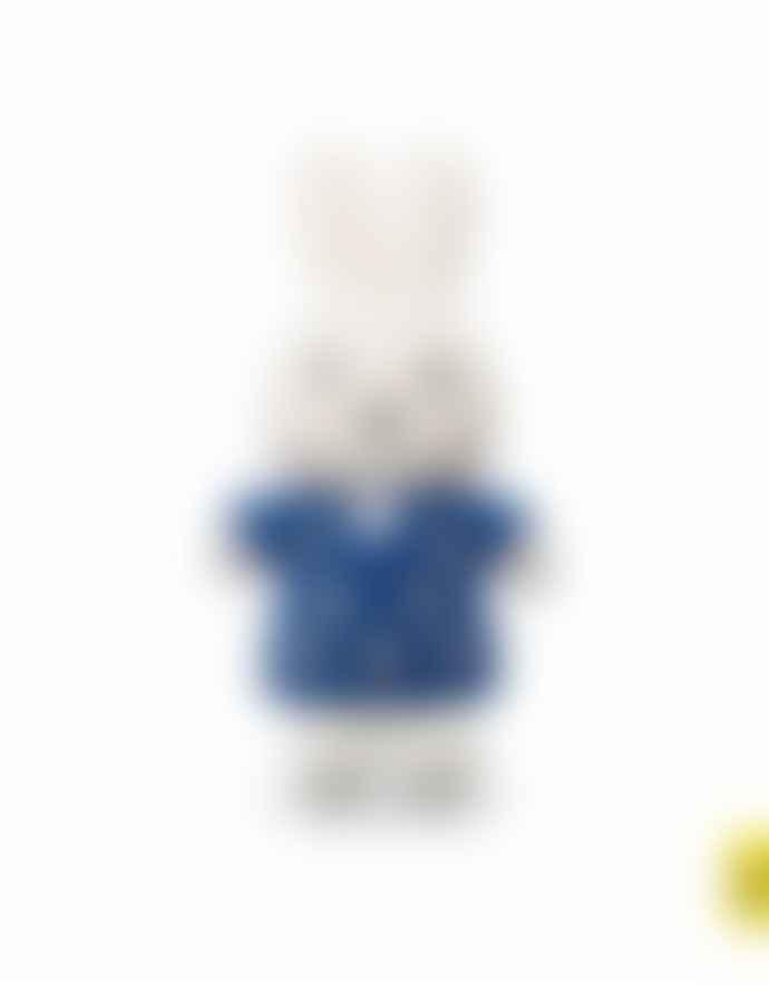 Miffy 25cm Blue Flower Dress Cuddly Toy