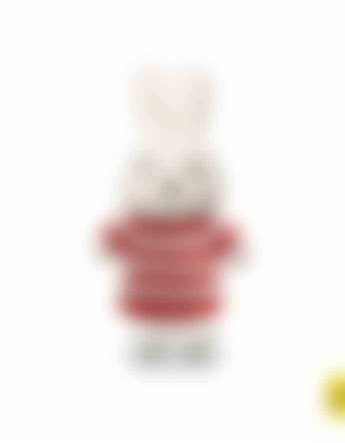 Miffy 25cm Red Stripe Dress Cuddly Toy