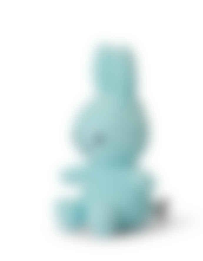 Miffy 23cm Turquoise Corduroy Sitting Cuddly Toy