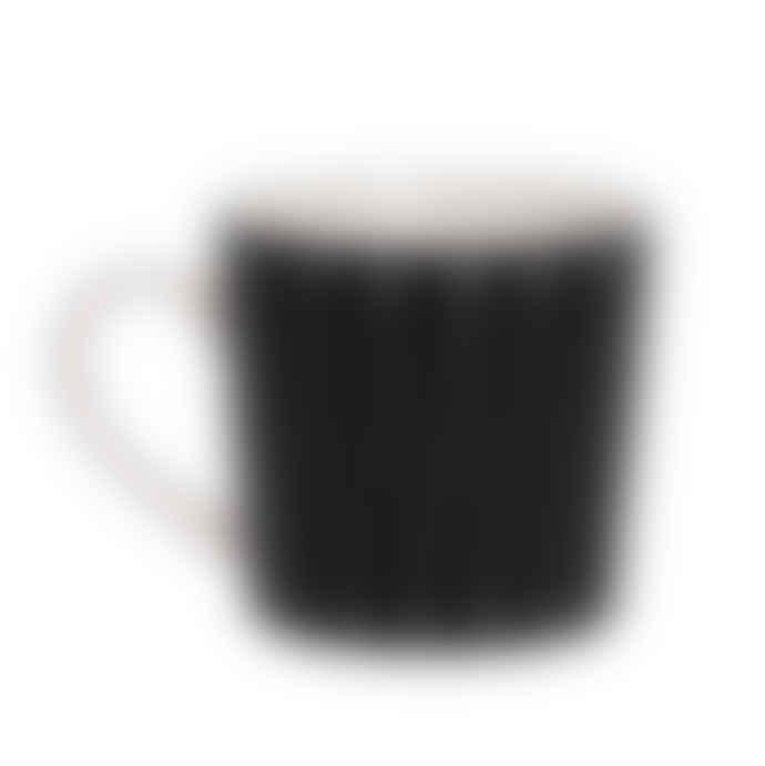 Littlephant Small Black and White Porcelain Riviera Coffee Mug