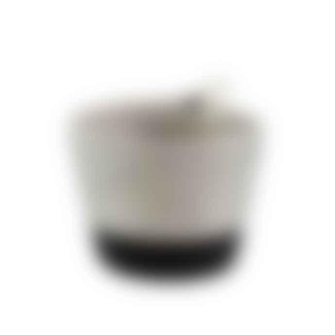 MIA MELANGE Small Liquorice Planter Basket