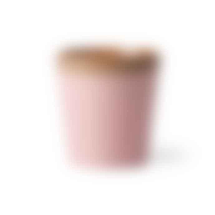 HKliving Ceramic 70's Mug Pink