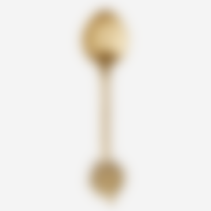 Madam Stoltz Small Brass Palm Spoon