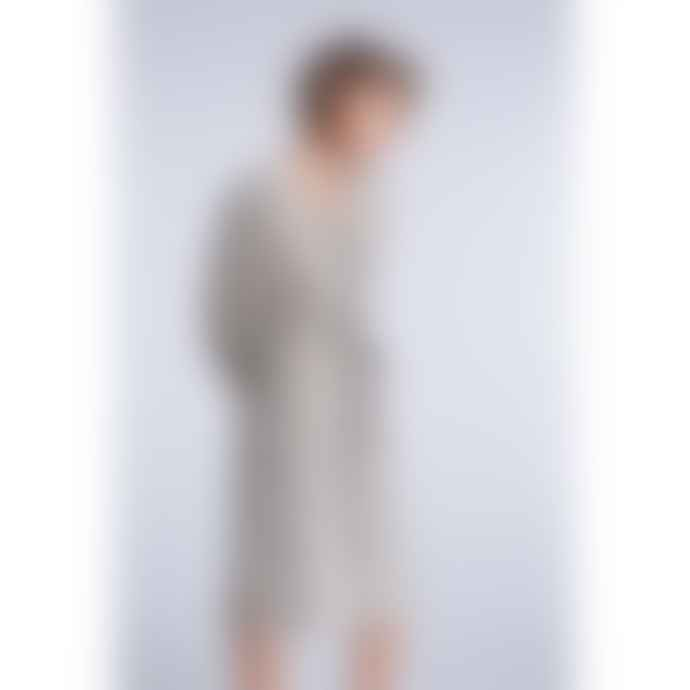 Set Fashion Midi Snake Print Tie Waist Dress