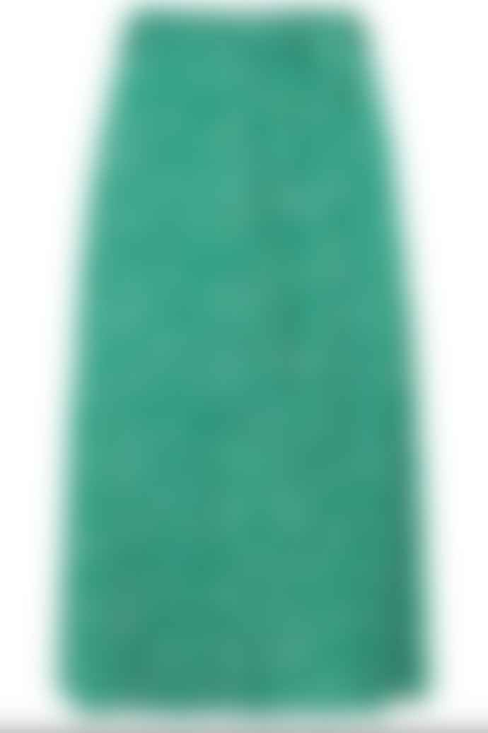 Sugarhill Brighton Rosanna Painterly Spot Midi Skirt