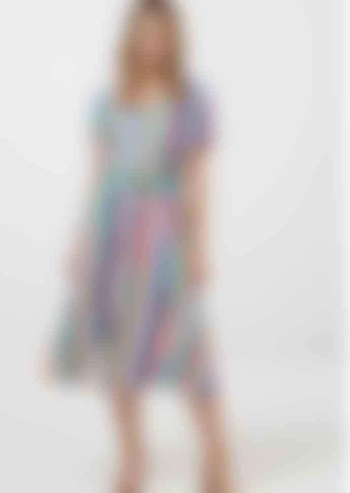 Sugarhill Brighton Cassidy Cruise Stripe Midi Dress