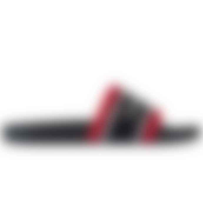 Emporio Armani  Sliders Navy Red