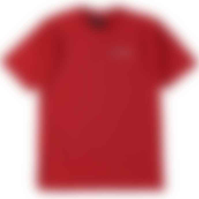 Standard Reference Materials Srm Embroidered Logo Acidhaus Tee Red