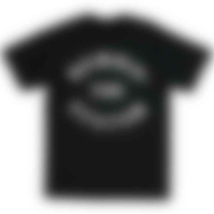 Standard Reference Materials Srm Bombin The System Flock Logo Tee Black White