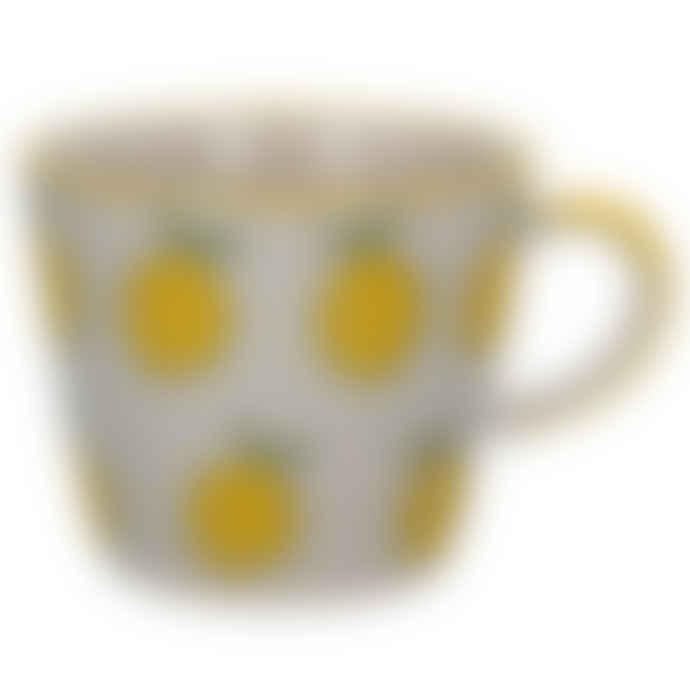 Gisela Graham Lemons Ceramic Mug