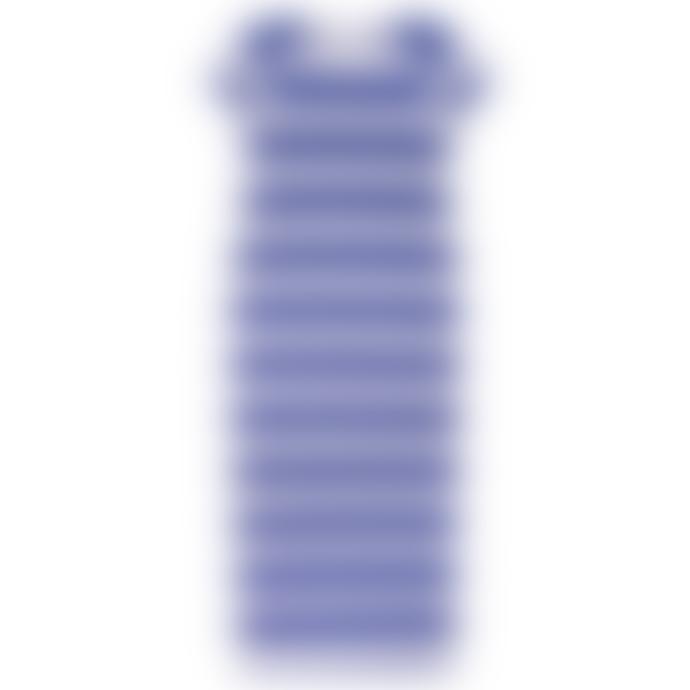 LF Markey Paolo Dress Blue Stripe