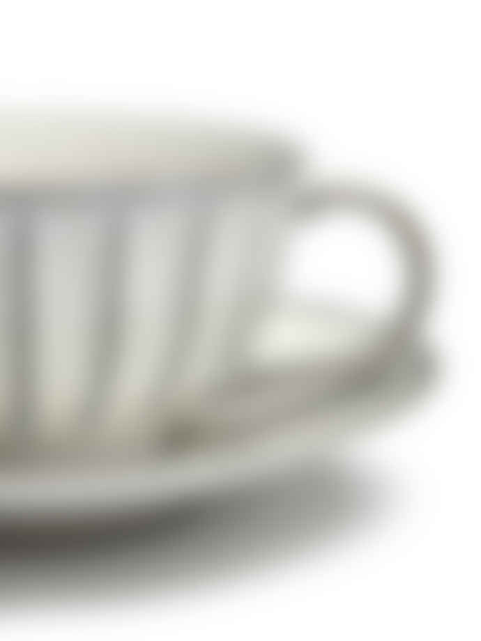 Serax Inku Saucer Plate for Cappuccino Cup and Coffee Cup