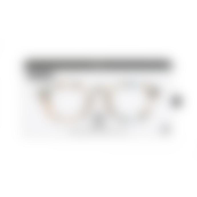 IZIPIZI Shape C Blue Tortoiseshell Reading Glasses