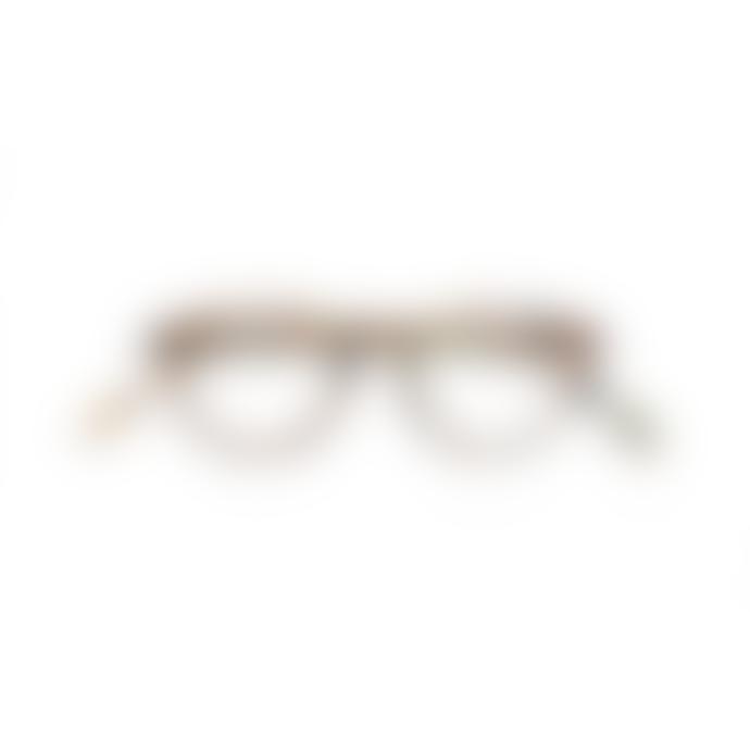 IZIPIZI Shape A Blue Tortoiseshell Reading Glasses