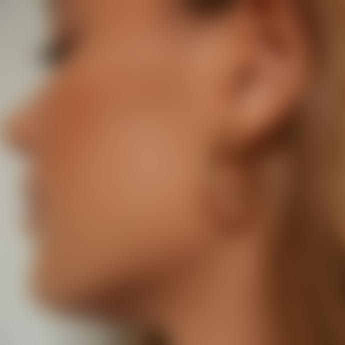 Daisy London Silver Stacked Rope Huggie Hoop Earrings