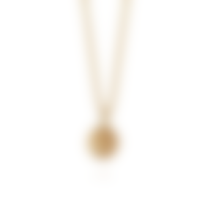 Daisy London Gold Stacked Knot Necklace