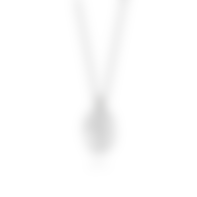 Daisy London Silver Forget Me Not Flower Necklace