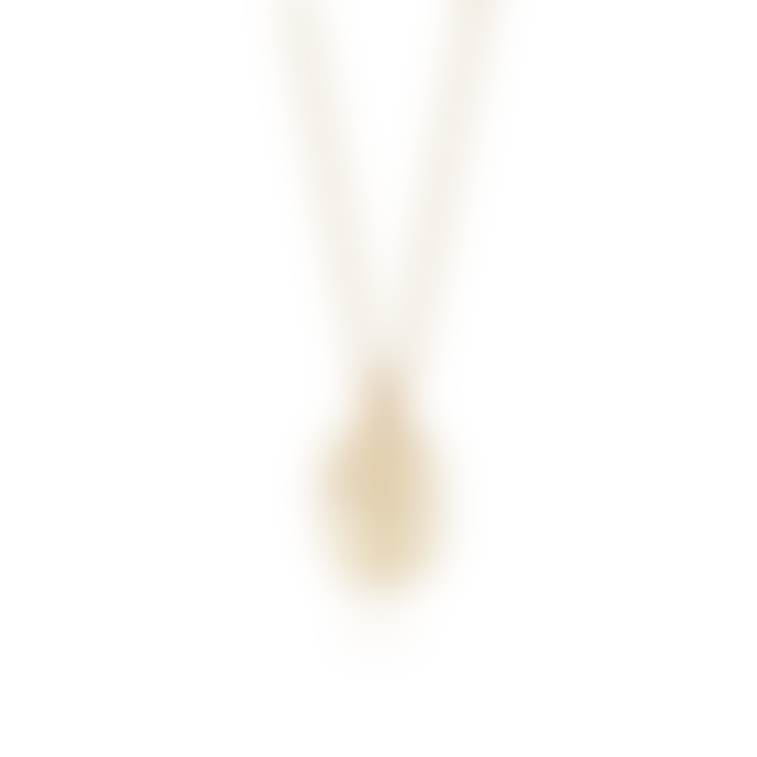 Daisy London Gold Forget Me Not Flower Necklace