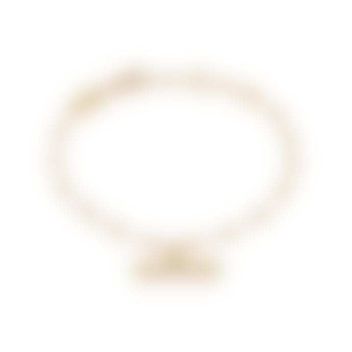 Daisy London Gold Stacked T Bar Bracelet