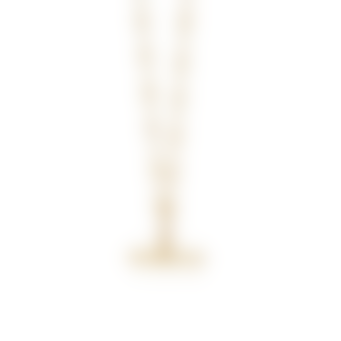 Daisy London Gold Stacked T Bar Necklace