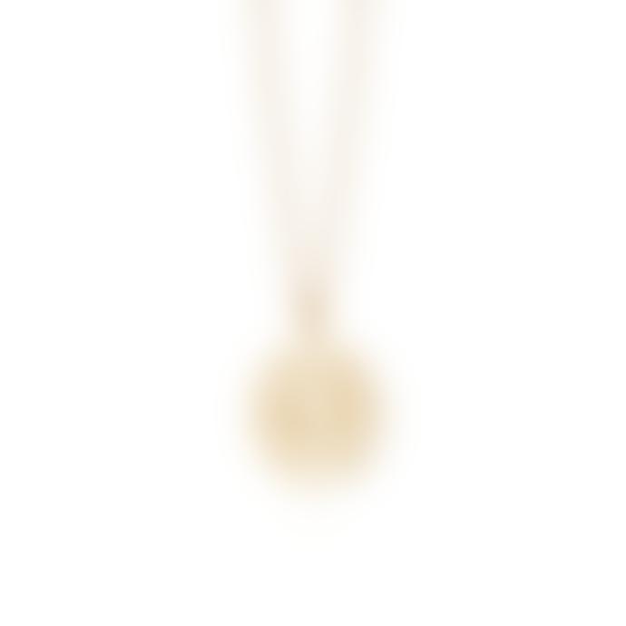Daisy London Gold Sacral Chakra Necklace
