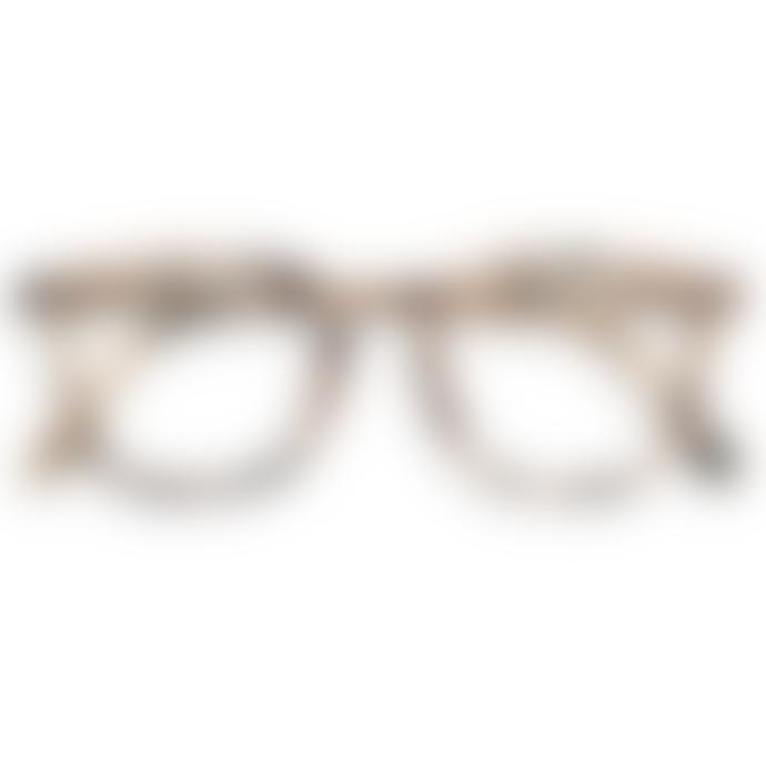 IZIPIZI Shape E Light Tortoiseshell Reading Glasses
