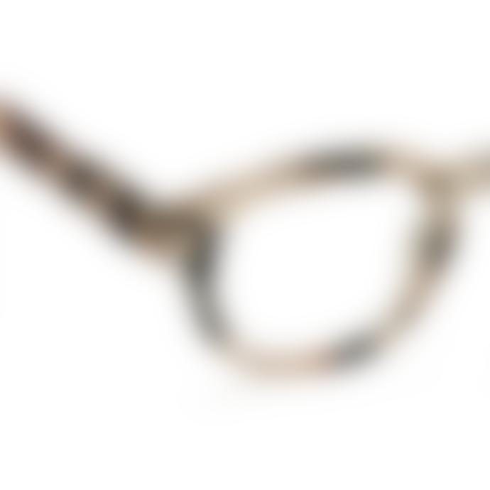 IZIPIZI Shape C Light Tortoiseshell Reading Glasses