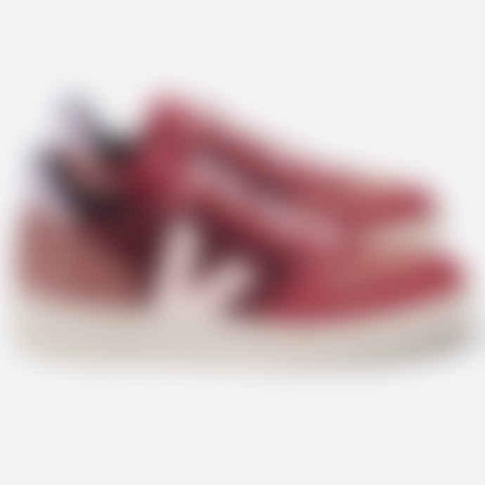 Veja V-10 Pixel Multico Burgundy Lilas Shoes
