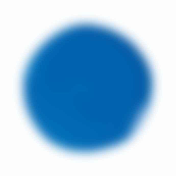 &klevering Irregular Shaped Plate Dark Blue