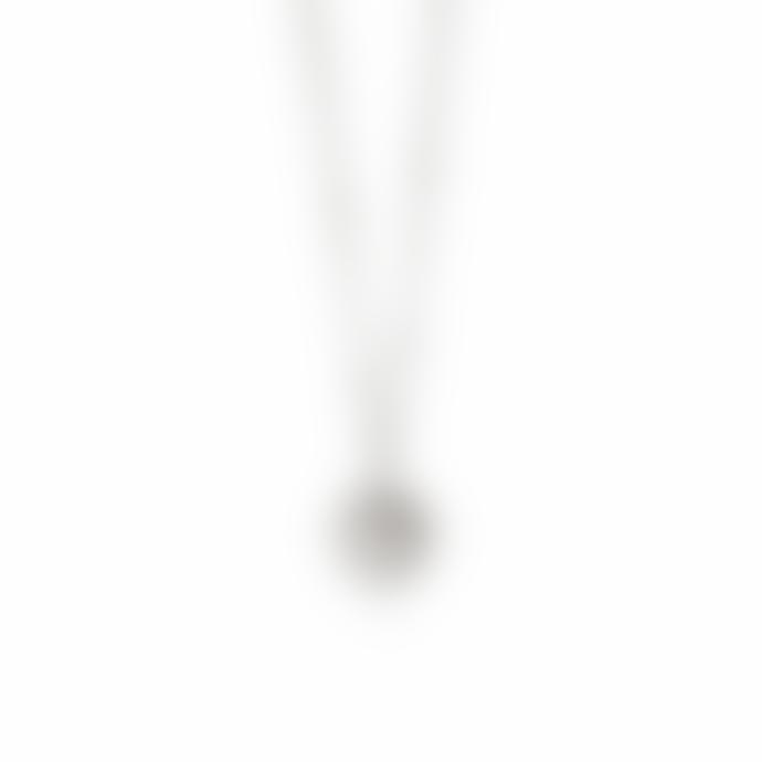 Daisy London Silver Howlite Healing Stone Necklace