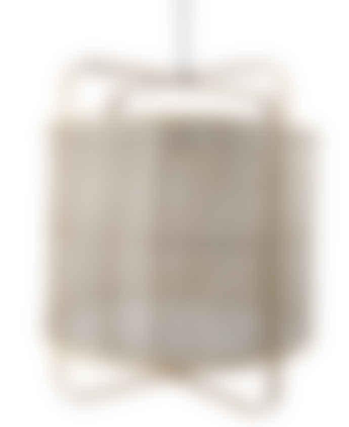 ATHEZZA HANJEL Small Bamboo and Linen Pendant Light