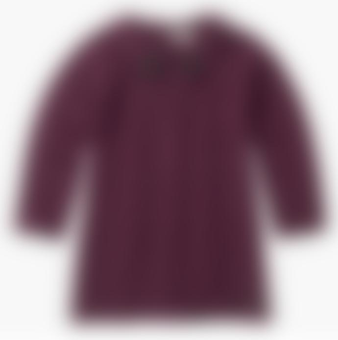 Sproet & Sprout Bordeaux Dress Panther