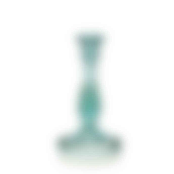 Van Verre Twist Candle Stick Blue
