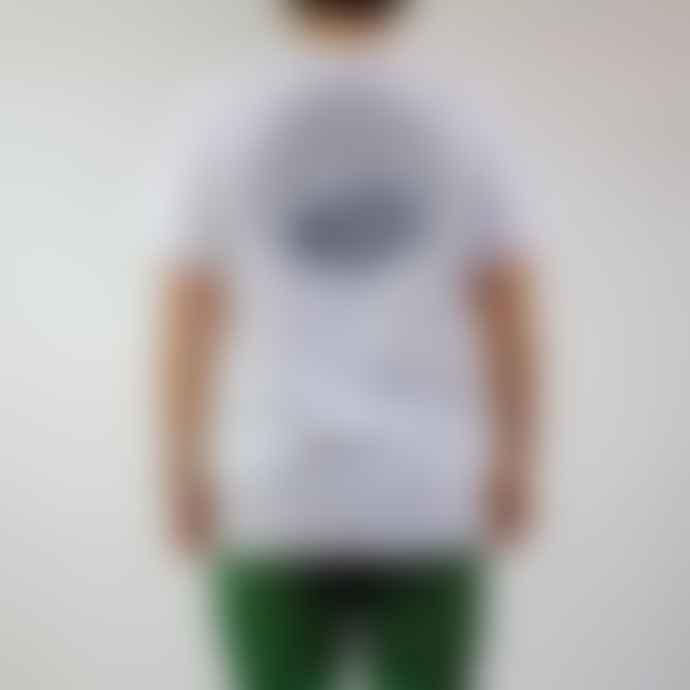 Hikerdelic Core Logo T Shirt White