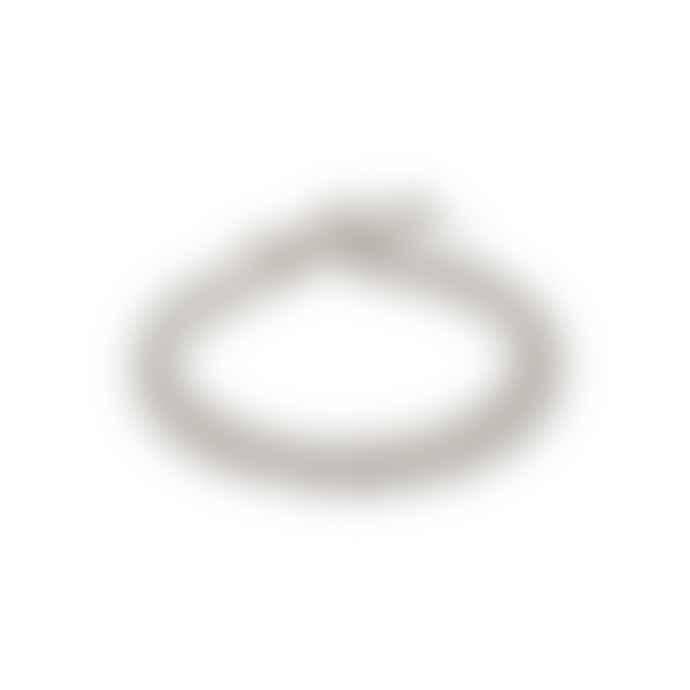 Pilgrim Silver Chain Bracelet - Water