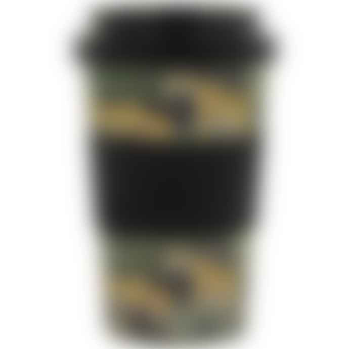 Lark London Jungle Fever Bamboo Re Useable Coffee Cup