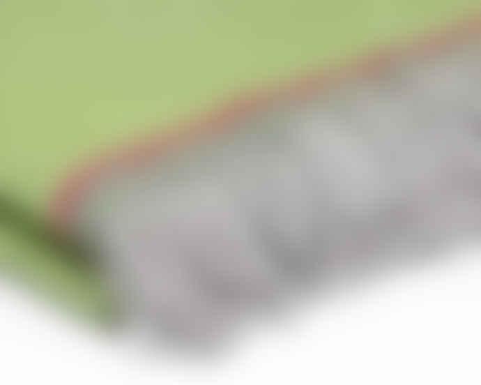 McNutt of Donegal Parrot Green Mini Blanket