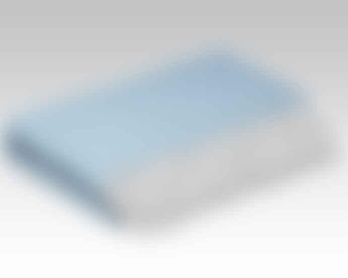 McNutt of Donegal Ice Blue Mini Blanket