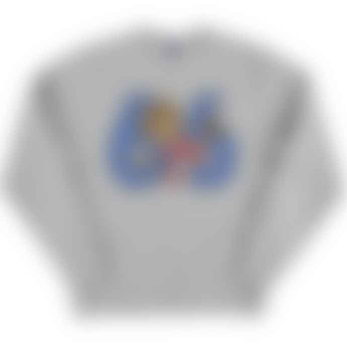 Standard Reference Materials Srm England 66 World Cup Willie Russell Crew Sweatshirt Oxford Grey Blue