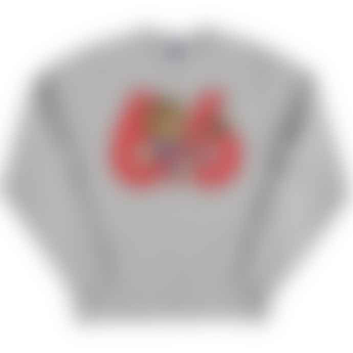 Standard Reference Materials Srm England 66 World Cup Willie Russell Crew Sweatshirt Oxford Grey Red