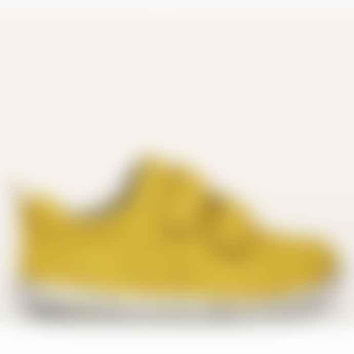 Bobux Iw Grass Court Lemon Trainer