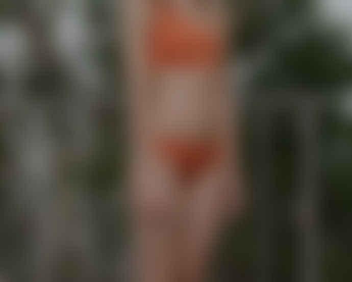 Baserange Defoe Orange Sun Protective Pa Bell Swimpants