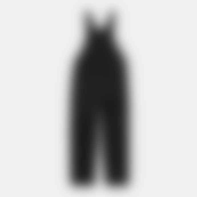 Carhartt Bib Overall Black Rinsed