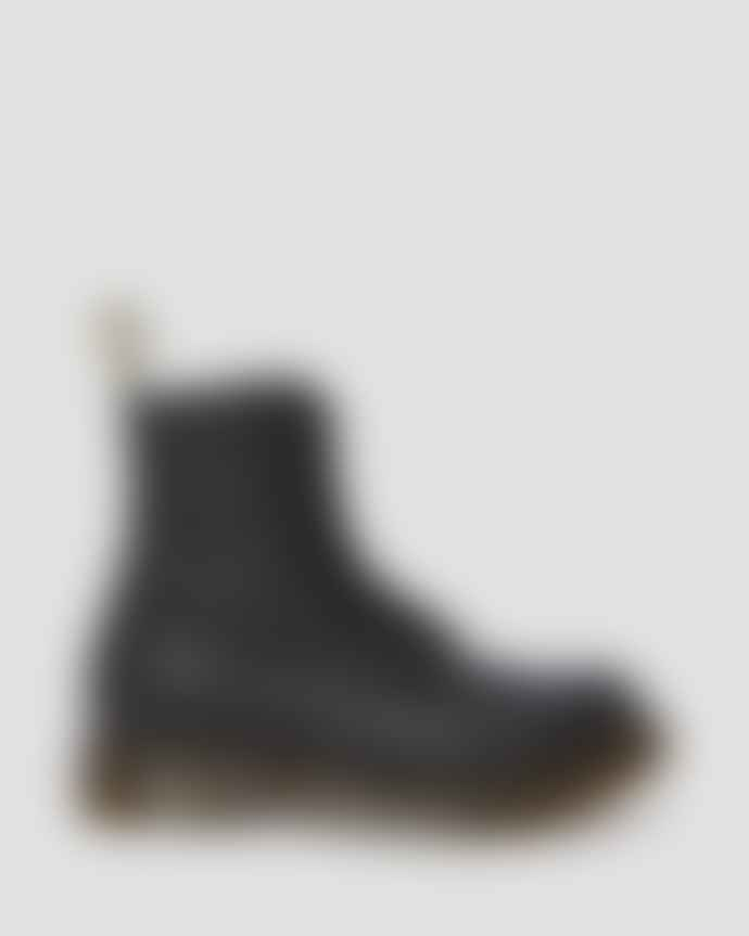 Dr Martens  Black Leather 1460 Pascal Virginia Ankle Boots