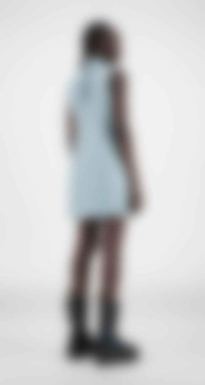 Daily Paper Blue Croco Hae Dress