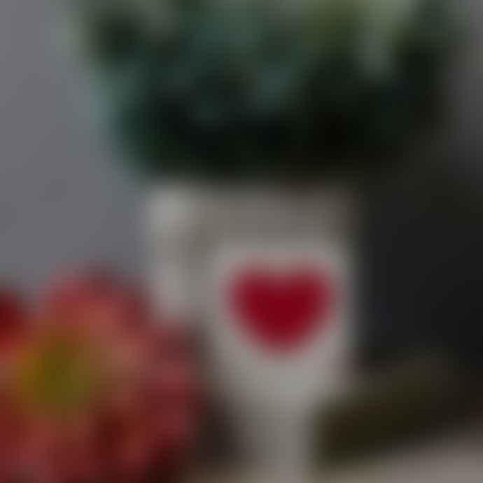 Bluebell 33 10 x 10cm Red Heart Scrabble Coaster