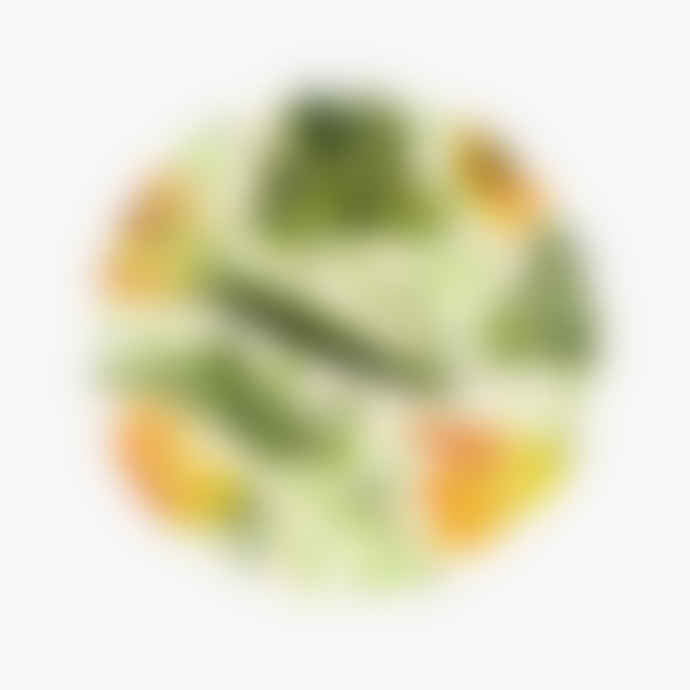 "Emma Bridgewater Vegetable Garden Yellow Courgette 8 1/2"" Plate"
