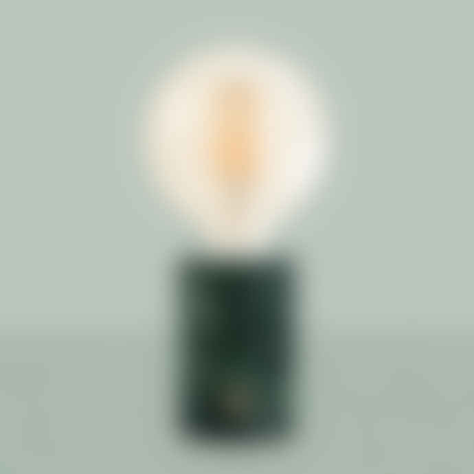 Edgar Marble Orbis Lamp