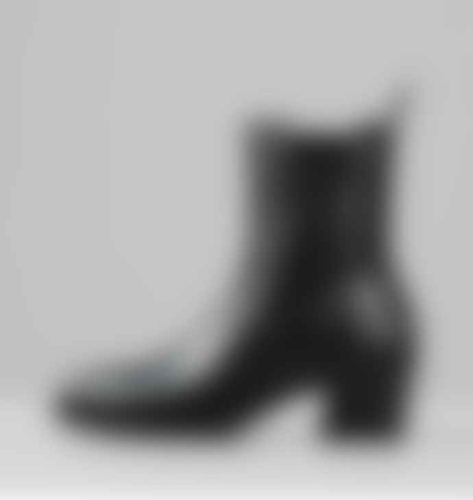 Vagabond Black Leather 101 Simone Boots